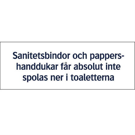 SKYLT: SANITET
